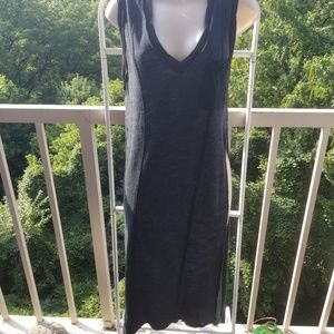 We the Free Charcoal Swim Coverup Maxi Dress XS